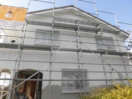 外壁塗り カルクウォール