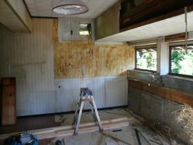 改修前のキッチン