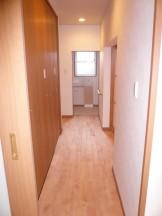 改修後の廊下~トイレ