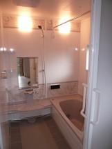 改修後の浴室