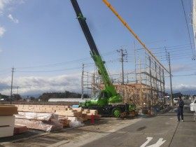 新築工事 上棟