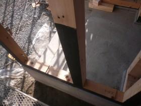 土台、柱 防腐、防蟻処理